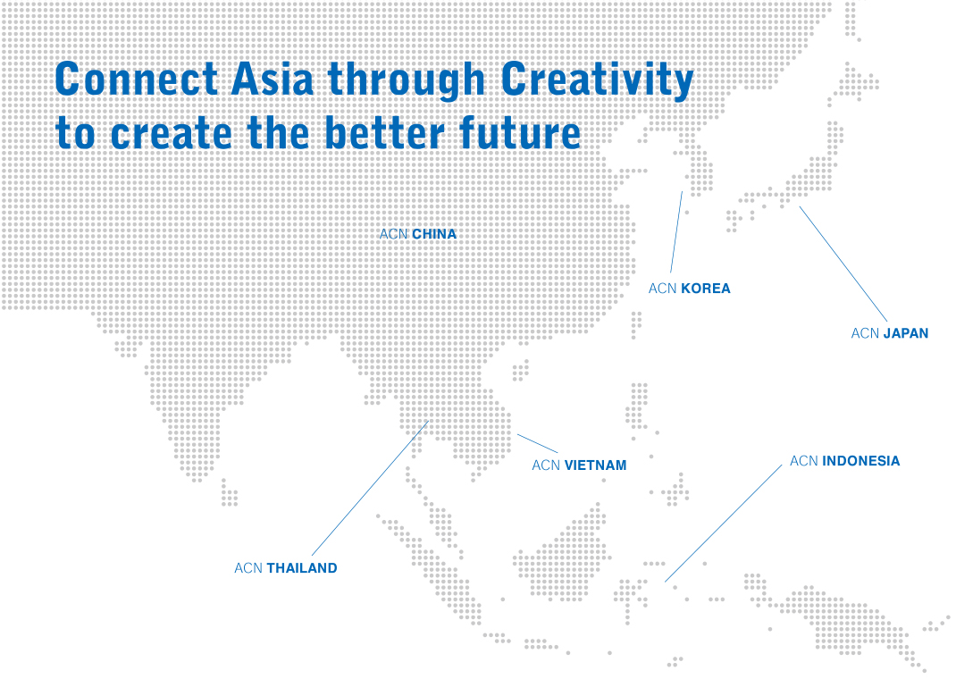 Connect Asia through Creatvivity to create the better future